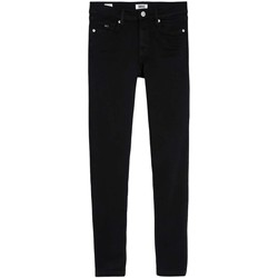 textil Mujer Vaqueros slim Tommy Jeans NORA MID RISE SKINNY ANKLE TMYBK Negro