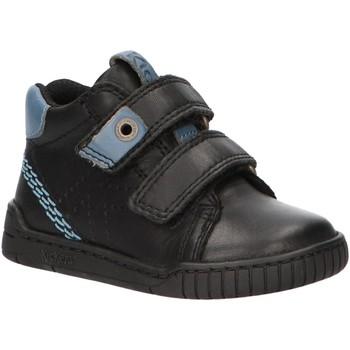 Zapatos Niños Botas de caña baja Kickers 736270-10 WIP Negro
