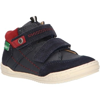 Zapatos Niño Botas de caña baja Kickers 692401-10 JAWA Azul