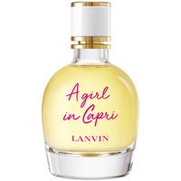 Belleza Mujer Agua de Colonia Lanvin A Girl In Capri Edt Vaporizador  90 ml