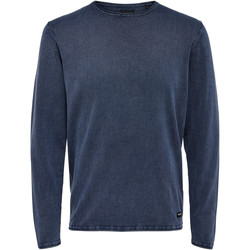 textil Hombre jerséis Only & Sons 22006806 Blu