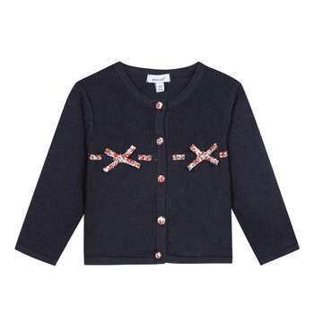 textil Niña Chaquetas de punto Absorba NOLI Marino