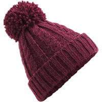 Accesorios textil Gorro Beechfield B480 Vino
