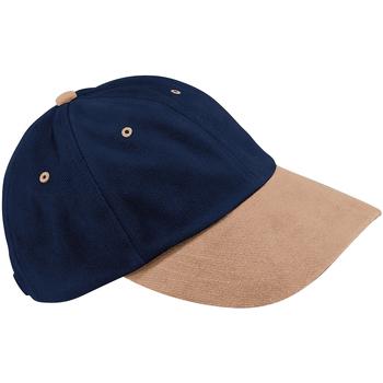 Accesorios textil Gorra Beechfield B57 Azul marino/ Gris pardo