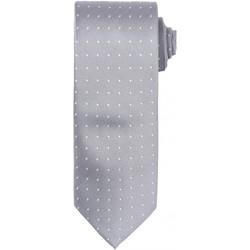 textil Hombre Corbatas y accesorios Premier Dot Pattern Plata/blanco