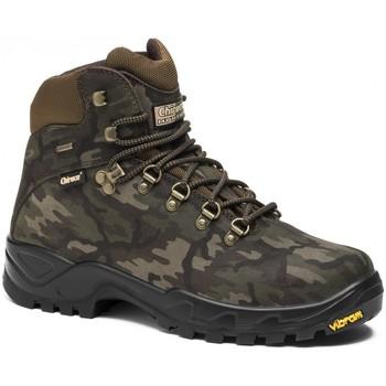 Zapatos Hombre Senderismo Chiruca Botas  Camo 21 Goretex Verde