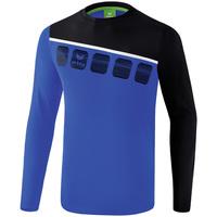 textil Hombre Conjuntos chándal Erima Haut d'entrainement manches longues  5-C bleu marine/noir/blanc