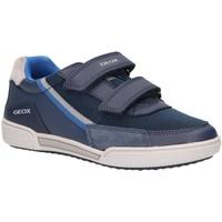 Zapatos Niños Zapatillas bajas Geox J02BCF 01454 J POSEIDO Azul