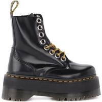 Zapatos Mujer Botines Dr Martens Biker Jadon Max de piel negra Negro