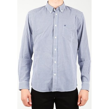 textil Hombre Camisas manga larga Wrangler 1 PKT Shirt W5929M8DF azul  , blanco