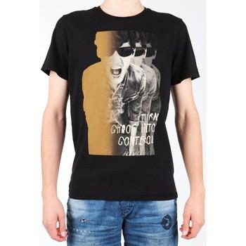 textil Hombre Camisetas manga corta Lee Photo Tee Black L60BAI01 negro