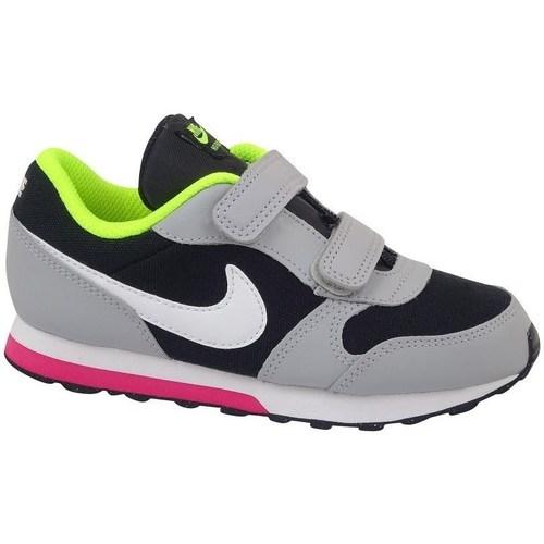 Barra oblicua Mucho Loza de barro  Nike MD Runner 2 TD Verde claro,Negros,Grises - Zapatos Running / trail Nino  55,79 €