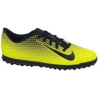 Zapatos Niños Fútbol Nike JR Bravatax II TF Negros,Amarillos