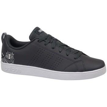Zapatos Niños Zapatillas bajas adidas Originals VS Advantage CL K Blanco,Negros
