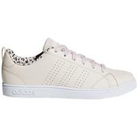 Zapatos Niños Zapatillas bajas adidas Originals VS Advantage CL K Beige