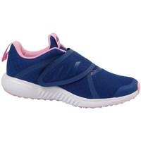 Zapatos Niña Running / trail adidas Originals Fortarun X CF K Amarillos, Azul marino