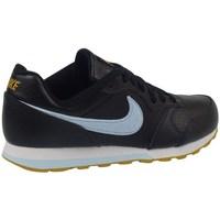 Zapatos Niños Derbie & Richelieu Nike MD Runner 2 Flt Negros