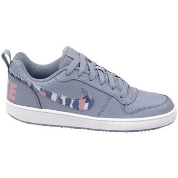 Zapatos Niños Zapatillas bajas Nike Court Borough Low GS Gris