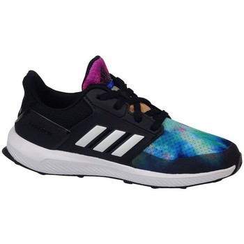 Zapatos Niños Running / trail adidas Originals Rapidarun X K Negros