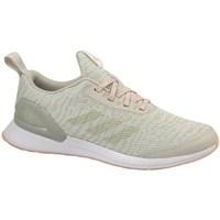 Zapatos Niños Running / trail adidas Originals Rapidarun X Knit J Verde olivo,Beige