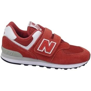 Zapatos Niños Zapatillas bajas New Balance YV574EC Rojos