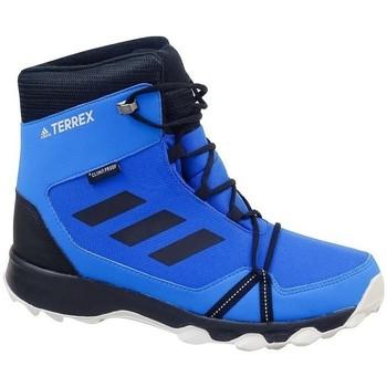 Zapatos Niño Botas de nieve adidas Originals Terrex Snow CP CW K Negros,Azul