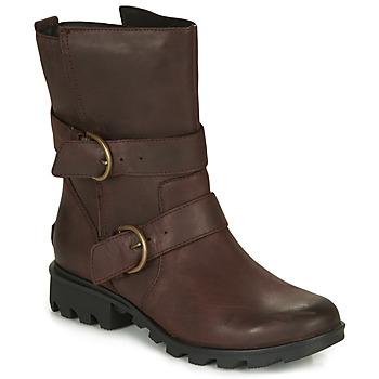 Zapatos Mujer Botas de nieve Sorel PHOENIX MOTO Marrón