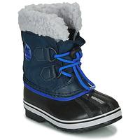 Zapatos Niños Botas de nieve Sorel CHILDRENS YOOT PAC NYLON Azul
