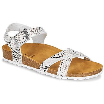 Zapatos Mujer Sandalias André REFLEXE Blanco