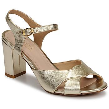 Zapatos Mujer Sandalias André JESS Oro
