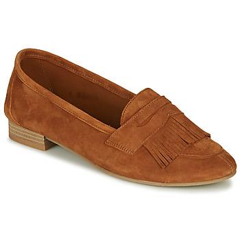 Zapatos Mujer Mocasín André BARCELONA Camel