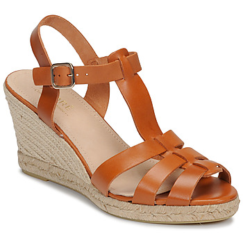 Zapatos Mujer Sandalias André BABORD Cognac