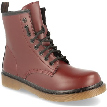 Zapatos Mujer Botas de caña baja Forever Folie BH316 Burdeos