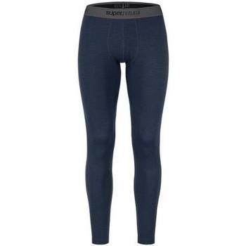 textil Pantalones Super.natural W Base Tight 175 Navy Azul