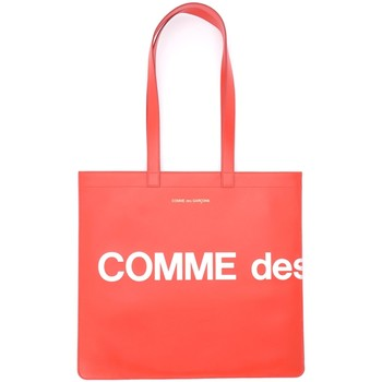 Bolsos Mujer Bolso shopping Comme Des Garcons Bolso Shopping  Huge Logotipo de Rojo