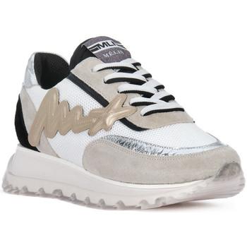 Zapatos Hombre Zapatillas bajas At Go GO MOON ARGENTO 560 Grigio