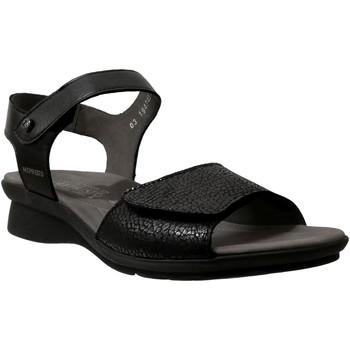 Zapatos Mujer Sandalias Mephisto Pattie Cuero negro