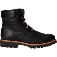 Zapatos Mujer Botas de caña baja Panama Jack Ginette B4 Napa Negro Negro