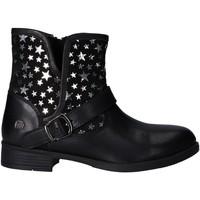 Zapatos Niña Botas de caña baja MTNG 47843 Negro