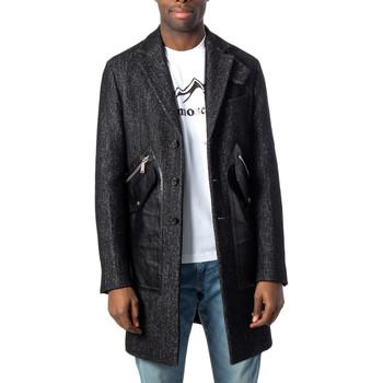 textil Hombre Abrigos Dsquared S74AA0135 Nero