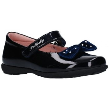Zapatos Niña Bailarinas-manoletinas Pablosky 336829 Niña Azul marino bleu