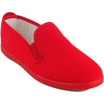 Zapatos Mujer Zapatillas bajas Bienve 102 rojo