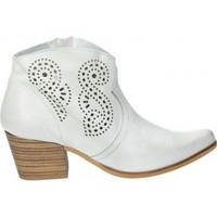 Zapatos Mujer Low boots Melcris Botines  3517 moda joven blanco blanc