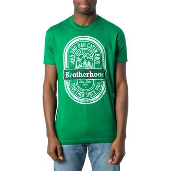 textil Hombre Camisetas manga corta Dsquared S71GD0577 Verde