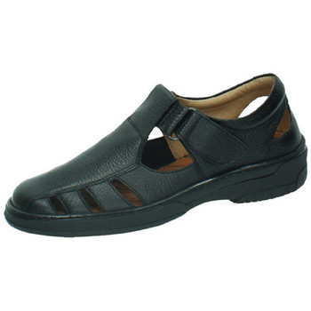 Zapatos Hombre Sandalias Primocx Sandalias de piel NEGRO