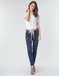 textil Mujer Pantalones con 5 bolsillos Betty London MIRABINE Marino