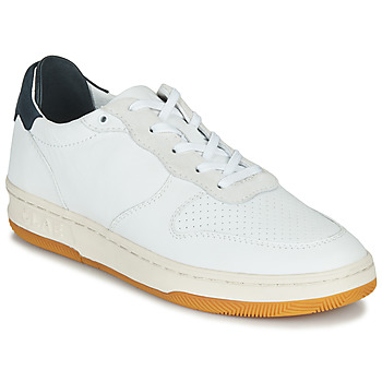 Zapatos Zapatillas bajas Claé MALONE Blanco / Azul