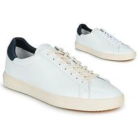 Zapatos Hombre Zapatillas bajas Claé BRADLEY Blanco / Azul