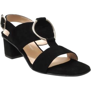 Zapatos Mujer Sandalias Brenda Zaro F3586 Terciopelo negro