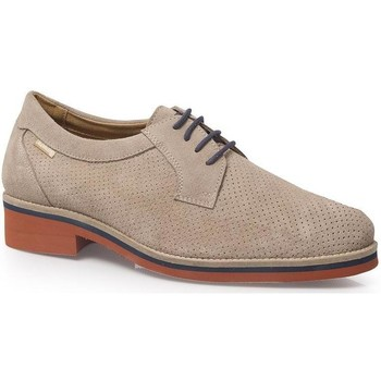 Zapatos Hombre Derbie Calzamedi S  CON CORDON S H BEIGE
